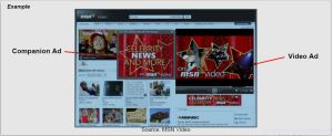 Video + Companion AdAd MSN